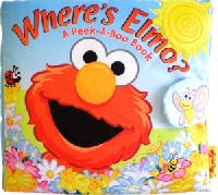 Sách vải Where's Elmo Fisher Price